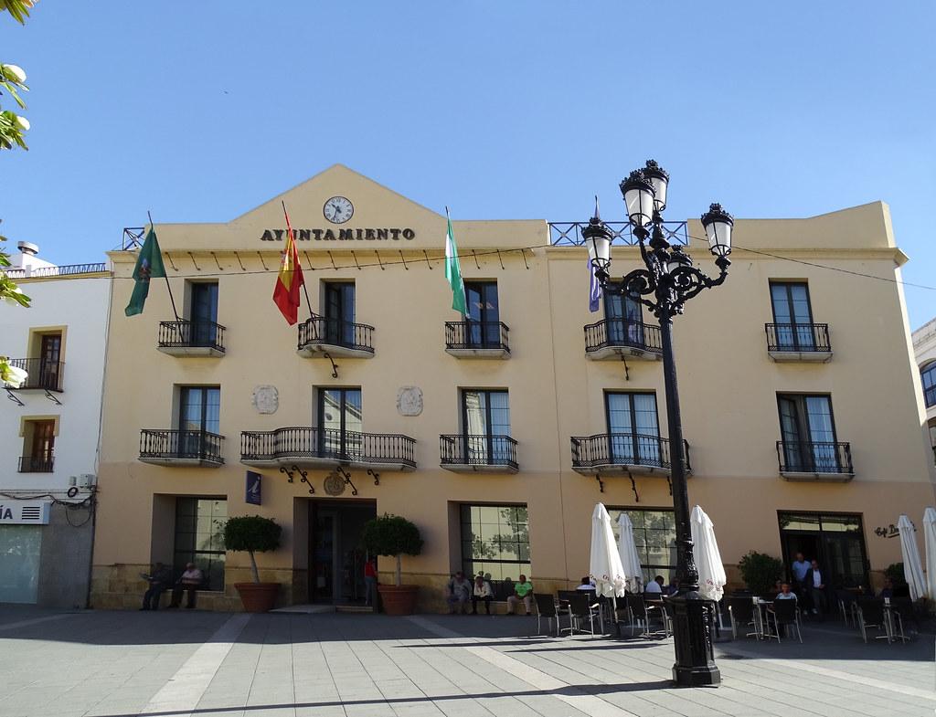 edificio del Ayuntamiento de Velez Malaga Málaga