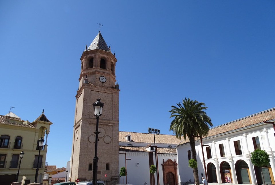 exterior Iglesia de San Juan Bautista Velez Malaga Málaga 03