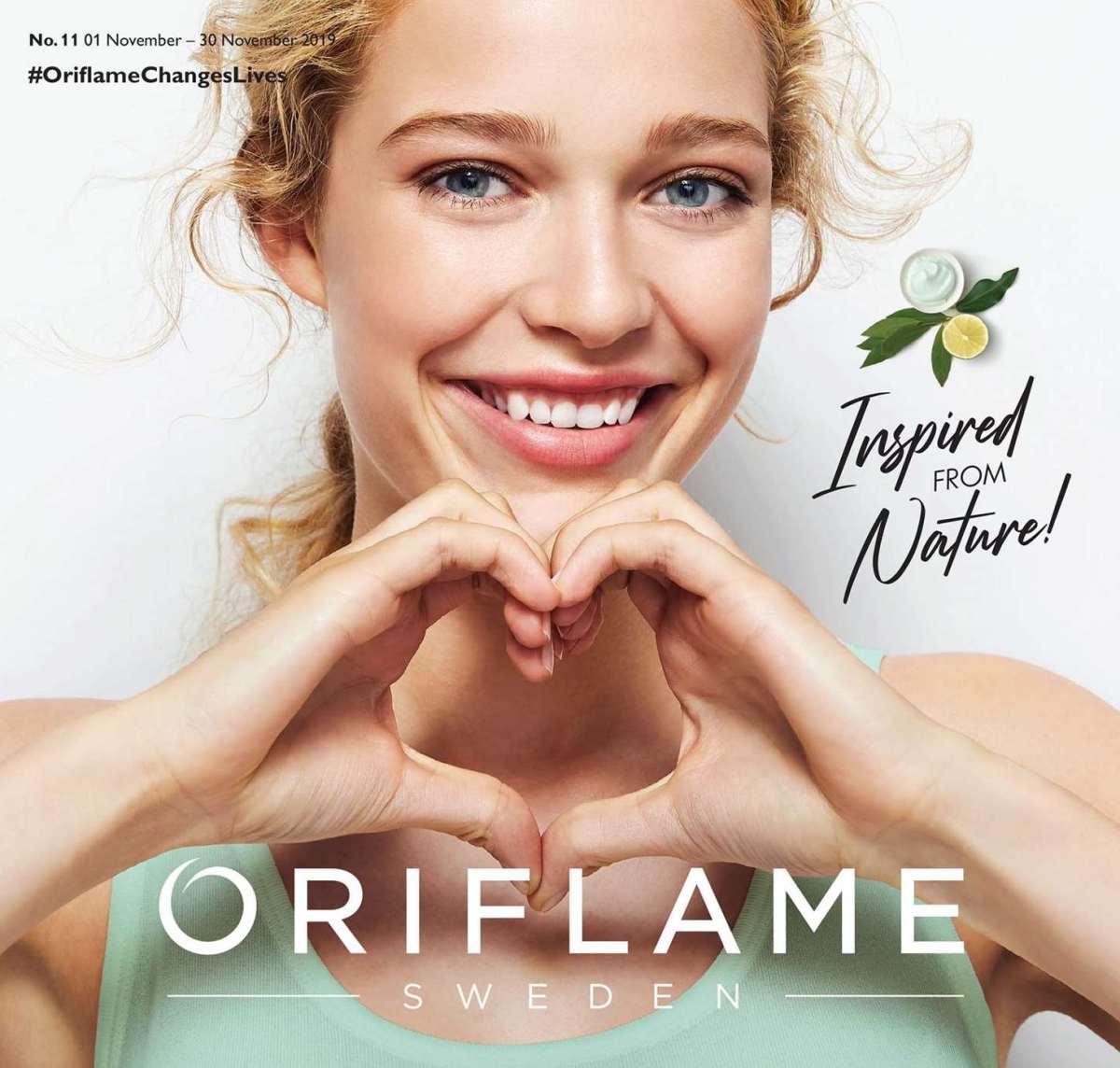 Katalog Oriflame November 2019 Hal 001