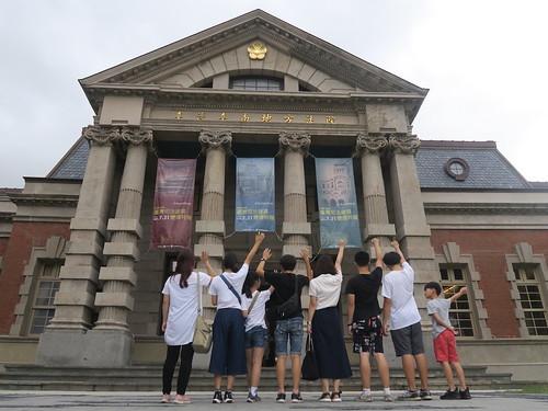 家族小旅行:來去台南美術館周邊走一圈(15ys)