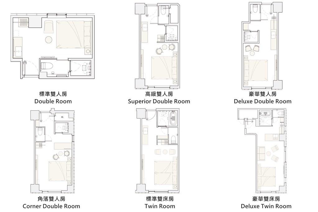 Nohga Hotel Ueno Room Type