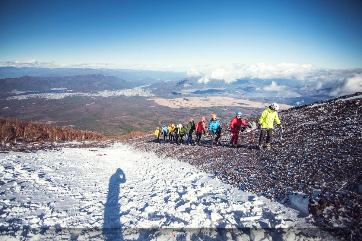 2018富士山冬攀