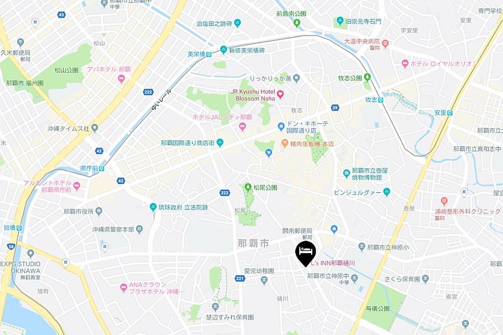 Condominium L's INN Nahahigawa Map
