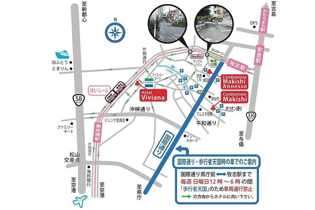 Hotel Viviana Map