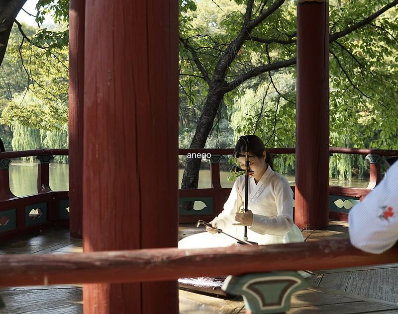 韓国民俗村 音楽