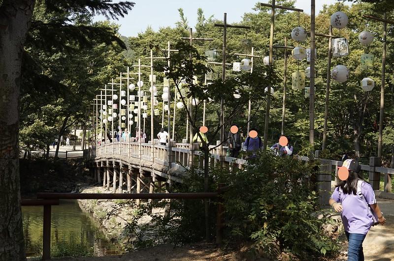 韓国民俗村 橋