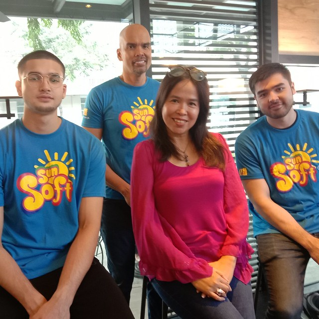 Sun Soft/ Benjie, Kobe, Andre Paras