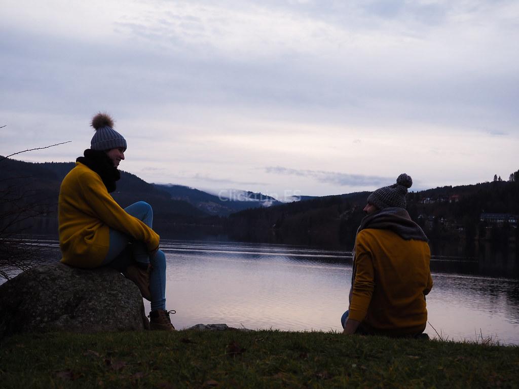 Lago Titisee · Ruta y preparativos parta viajar y visitar los mejores y más bonitos pueblos de la Selva Negra en Navidad