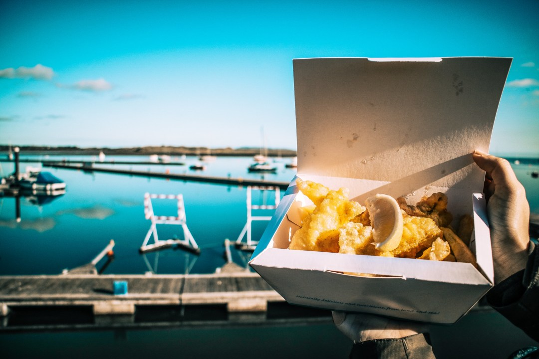 Fish and chips a Malahide