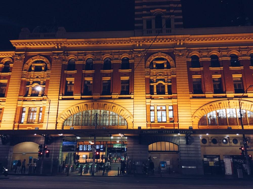 2 July 2016: Flinders Street Railway Station | Melbourne CBD, Australia