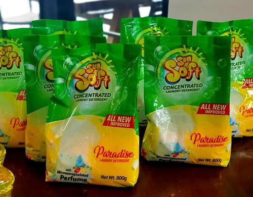 Sun Soft Paradise Laundry Detergent