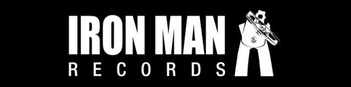 Iron Man Records Banner Logo