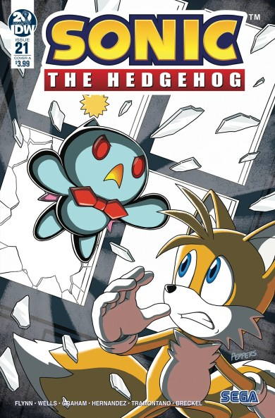 IDW Sonic the Hedgehog Issue 21 the last minute part one Cover A