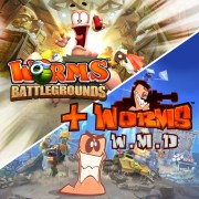 Thumbnail of Worms Battlegrounds + Worms W.M.D on PS4