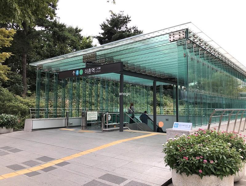 中央博物館 二村駅