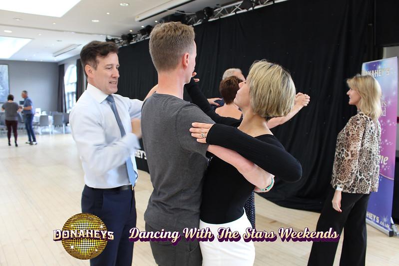 Strictly Come Dancing Professional Anton Du Beke Teaching