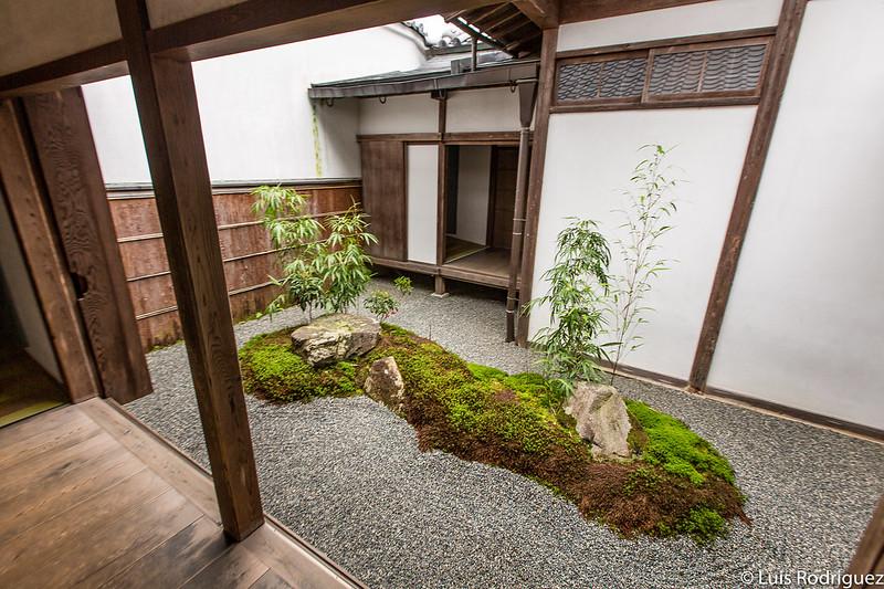 Tsubo-niwa en el templo Sanzen-in de Ohara