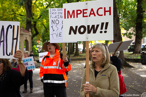 Portland Impeachment March and Sondland Hotel Protest