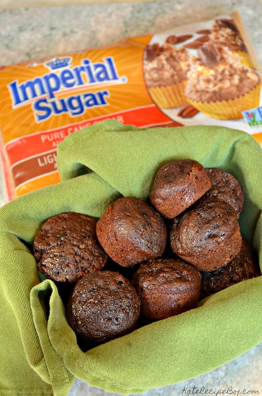 Chocolate Zucchini Mini Muffins 1