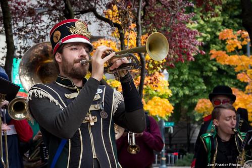 Portland Impeachment March and Sondland Hotel Protest