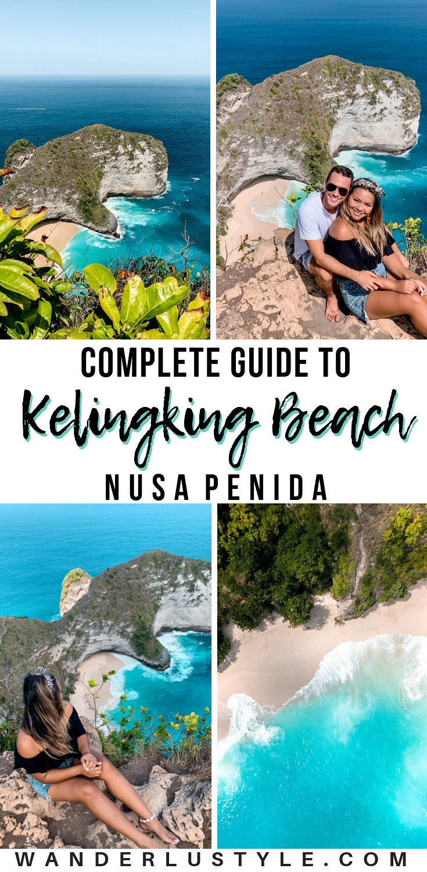 KELINGKING BEACH NUSA PENIDA GUIDE - HOW TO GET TO KELINGKING BEACH, WHAT TO DO AT KELINGKING BEACH, KELINGKING VIEWPOINT, KELINGKING BEACH, T REX NUSA PENIDA, NUSA PENIDA THINGS TO DO, NUSA PENIDA GUIDE, NUSA PENIDA TOUR, WHERE TO STAY IN NUSA PENIDA   WANDERLUSTYLE.COM