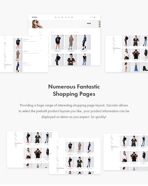 Fantastic Shop Page Styles