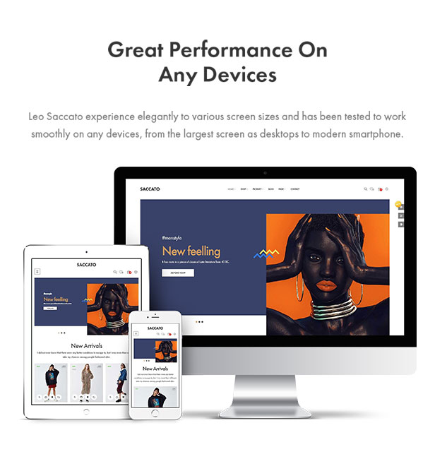 responsive with any devices
