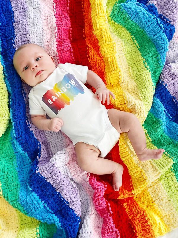 My little rainbow baby