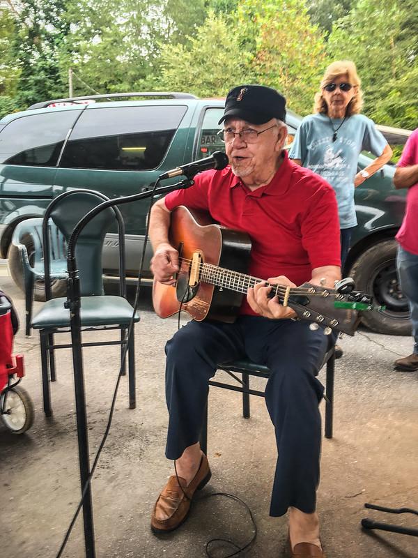 Pickens Flea Market Musicians Circle