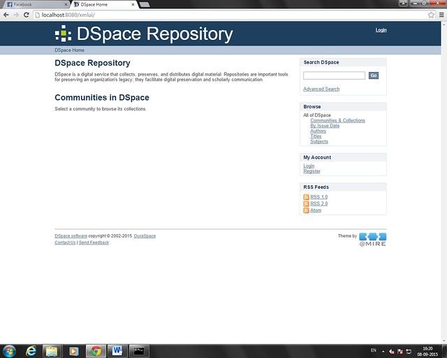 Dspace Repository XML UI