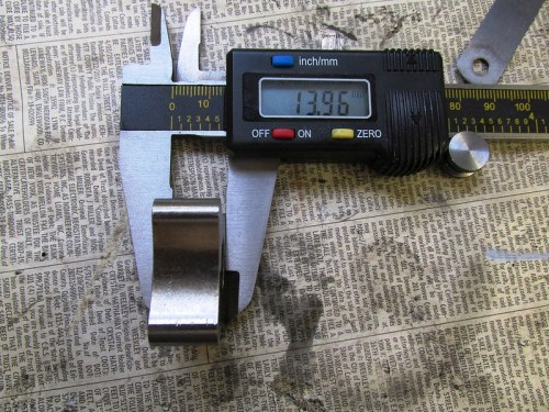 Thickness of Oil Pump Inner Rotor