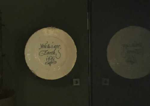 plate in Museum of London