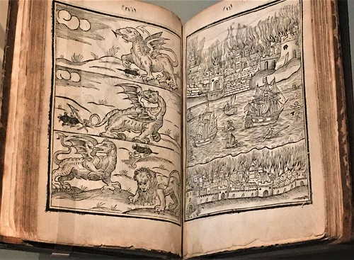 astrologist William Lilly's 1651 book predicting the Great Fire