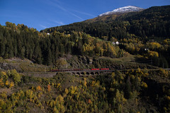 Fall in the Alps