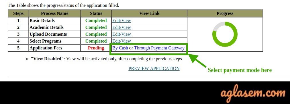 TISSNET 2021 Application Form