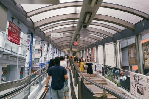 Central-Mid-Levels Escalators (半山扶梯), Hong Kong