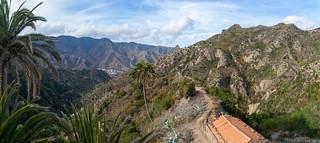 Roque Cano und Vallehermoso Pano