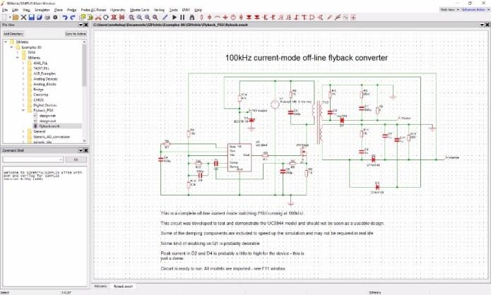 Working with SIMetrix-SIMPLIS Elite v8.20a x64 full license