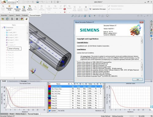 Working with Siemens Simcenter Flotherm XT 2019.1 full