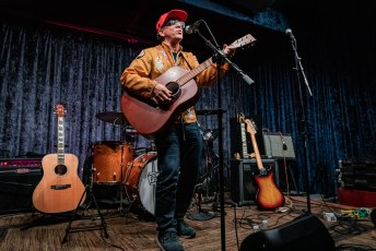 Joe Pernice at the Parlor Room in Northampton, MA on October 19th, 2019