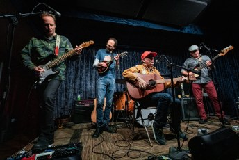 Scud Mountain Boys at the Parlor Room in Northampton, MA on October 19th, 2019
