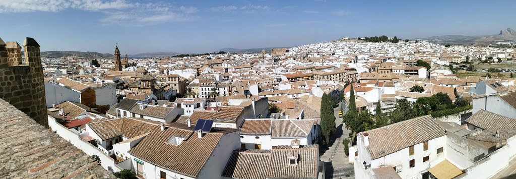 vista desde el Mirador de Las Almenillas Antequera Malaga