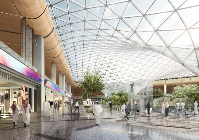 HIA Expansion Retail Area and Glass Roof