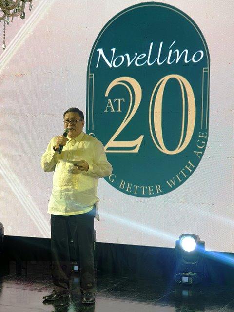 Novellino Wines Nonoy Quimbo