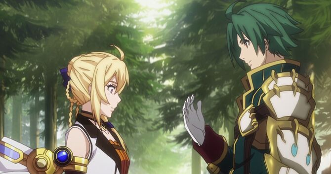 Record of Grancrest War Volume One Theo Siluca