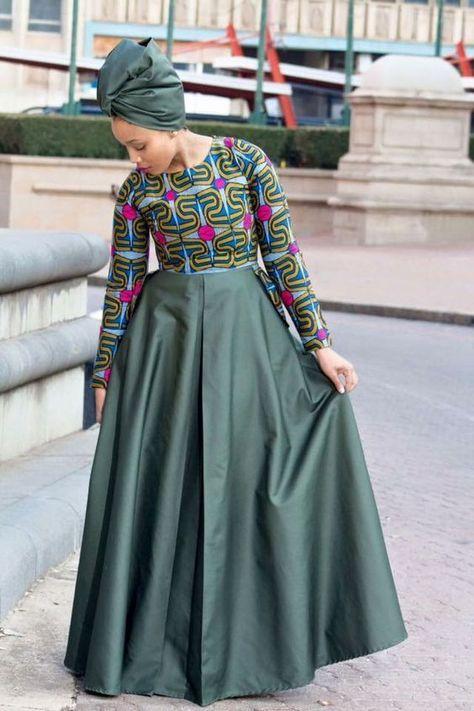 The Best Kitenge Dresses Designs For Ladies 2020 - Latest ...