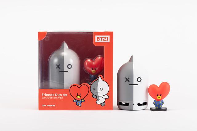 BT21 VAN Speaker + TATA Figure