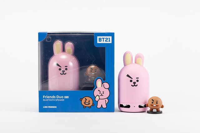 BT21 COOKY Speaker + SHOOKY Figure
