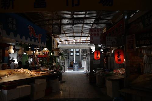 【寫生】台北「新富町文化市場」:親子市場+明日咖啡館(15.1ys)