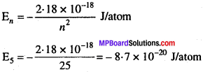 MP Board Class 11th Chemistry Solutions Chapter 2 परमाणु की संरचना 10